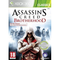 ASSASSIN'S CREED BROTHERHOOD CLASSICS XBOX 360 PAL-FR OCCASION