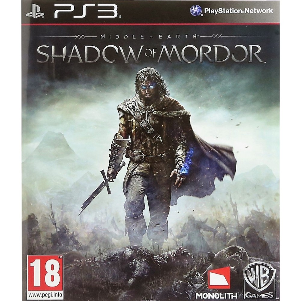 SHADOW OF MORDOR PS3 FR-UK NEW