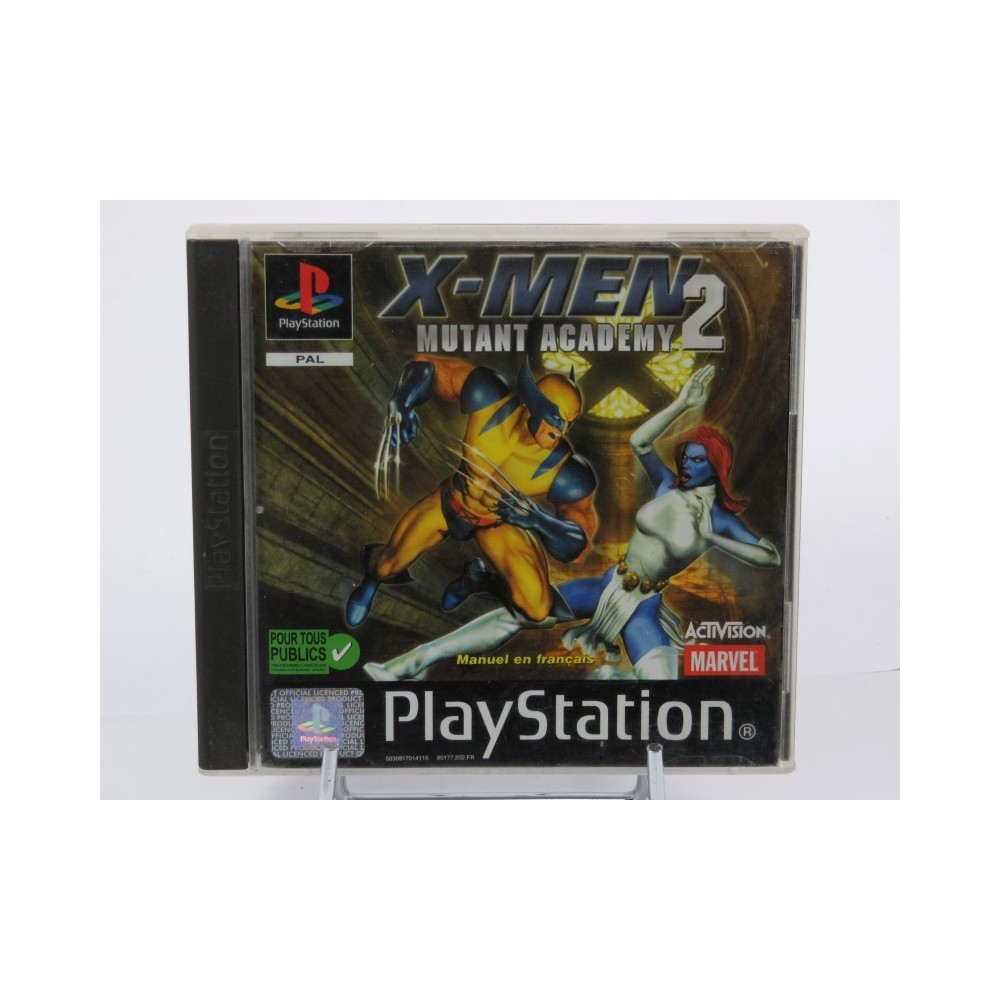 X-MEN MUTANT ACADEMY 2 PS1 PAL-FR OCCASION