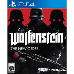 WOLFENSTEIN THE NEW ORDER PS4 USA OCCASION