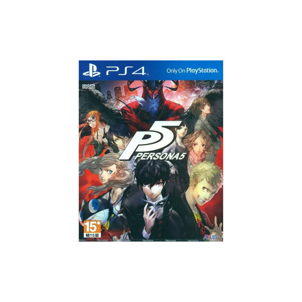 PERSONA 5 PS4 ASIAN OCCASION