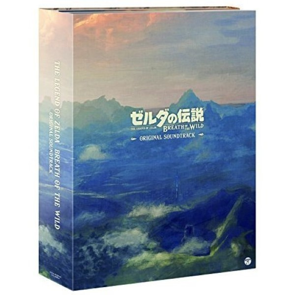 CD THE LEGEND OF ZELDA BREATH OF THE WILD SOUNDTRACK JAP NEW