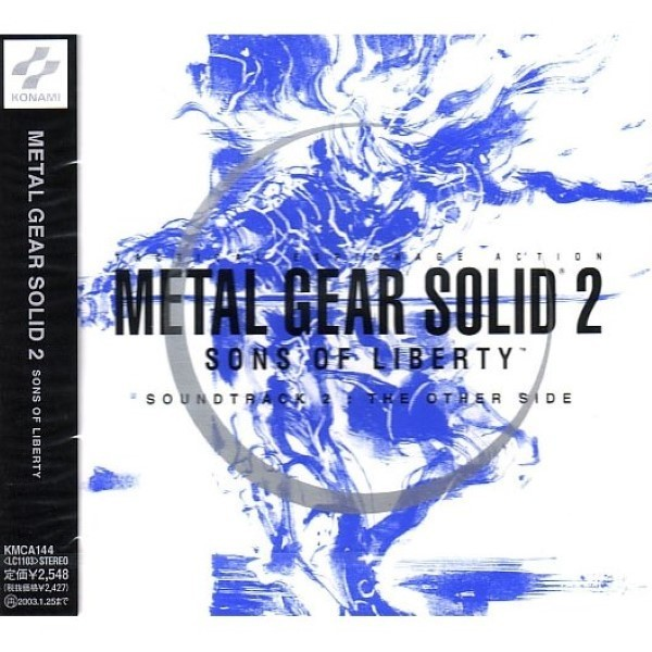 CD METAL GEAR SOLID 2 SOUNDTRACK 2 THE OTHER SIDE JAP NEW