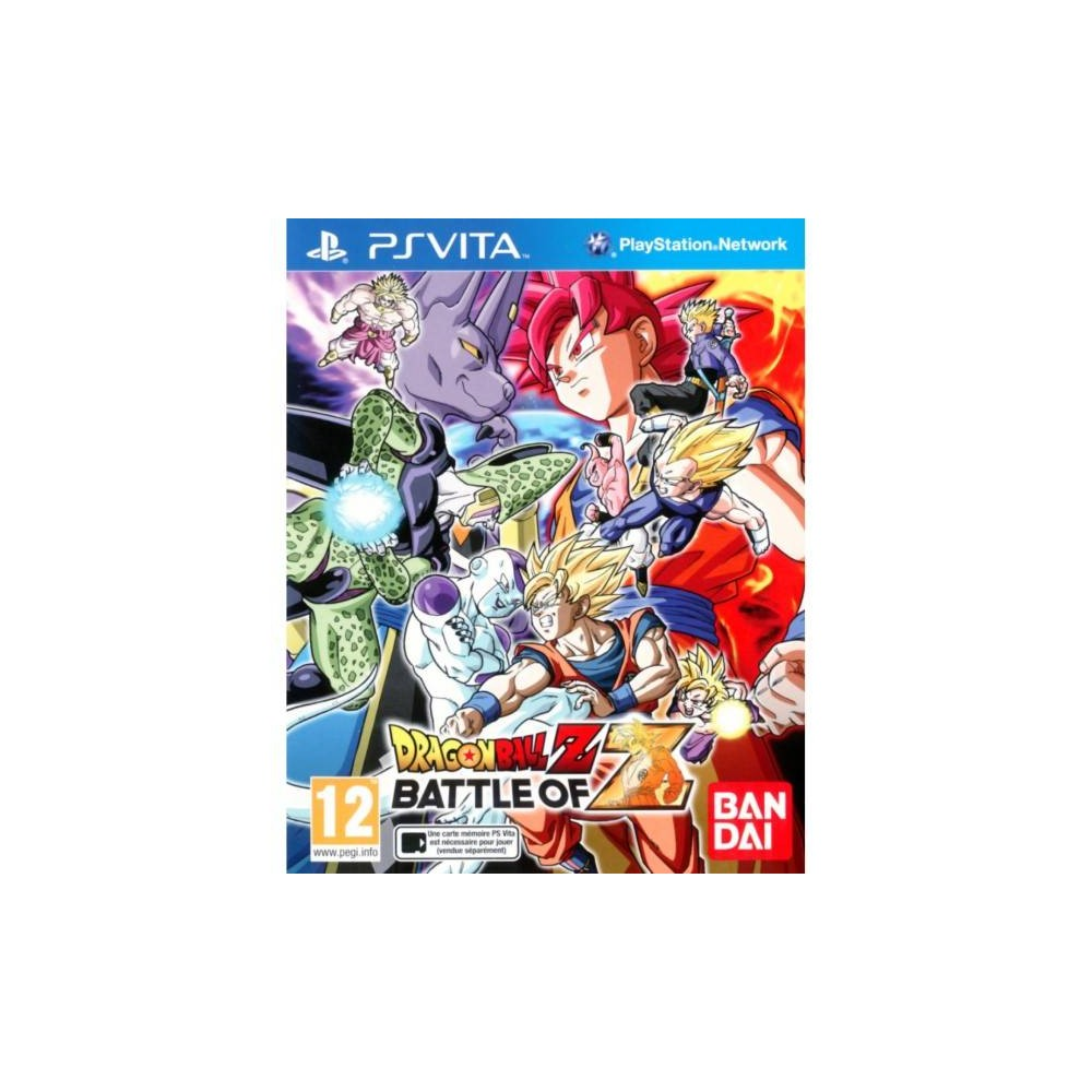 DRAGON BALL Z BATTLE OF Z PSVITA UK OCCASION