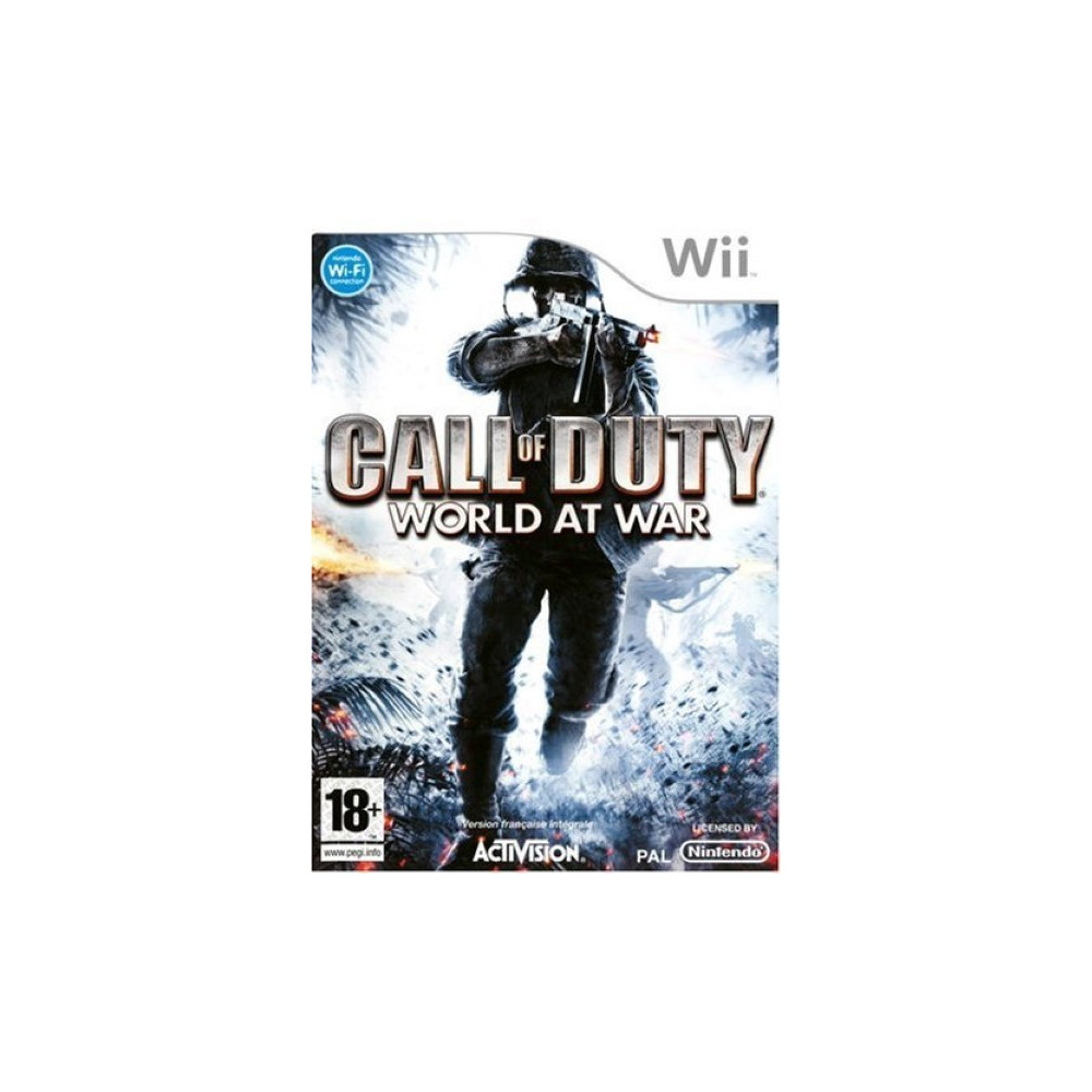 CALL OF DUTY : WORLD AT WAR WII PAL-FRA OCCASION
