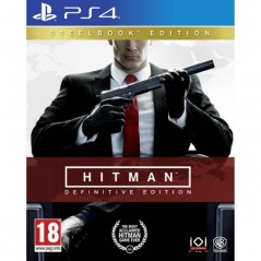 HITMAN DEFINITIVE EDITION STEELBOOK EDITION PS4 EURO FR NEW