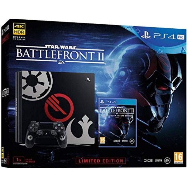 CONSOLE PS4 PRO 1 TO EDITION LIMITED STAR WARS BATTLEFRONT 2 EURO OCCASION