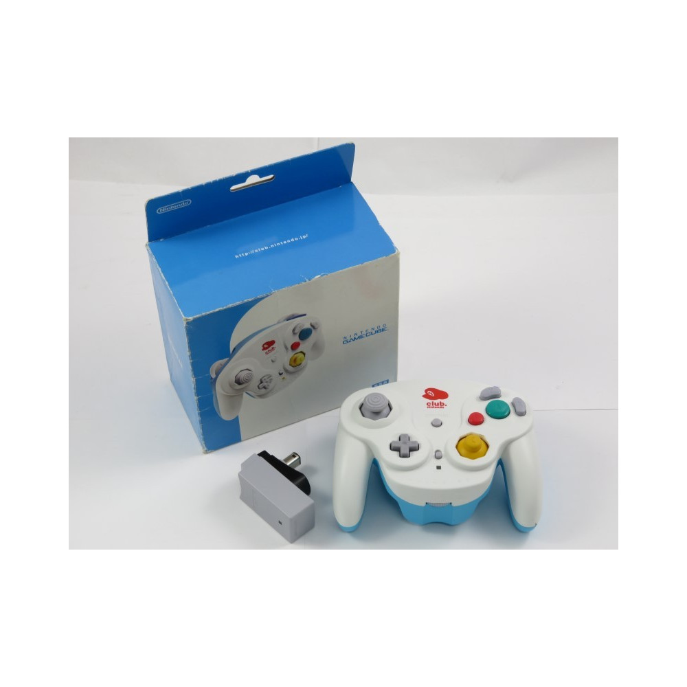 CONTROLLER - MANETTE GAMECUBE WAVEBIRD EDITION CLUB NINTENDO JPN OCCASION