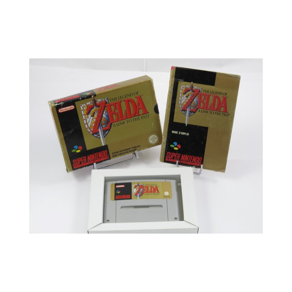THE LEGEND OF ZELDA A LINK TO THE PAST SNES PAL-SFRA OCCASION