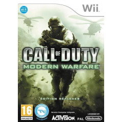 CALL OF DUTY MODERN WARFARE EDITION REFLEXES WII PAL-FR OCCASION
