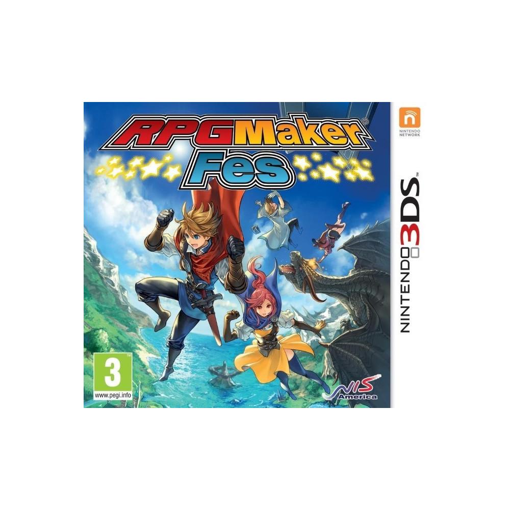 RPG MAKER FES 3DS FR OCCASION