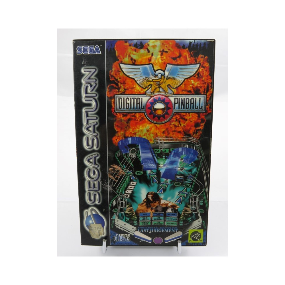 DIGITAL PINBALL SATURN PAL-EURO OCCASION