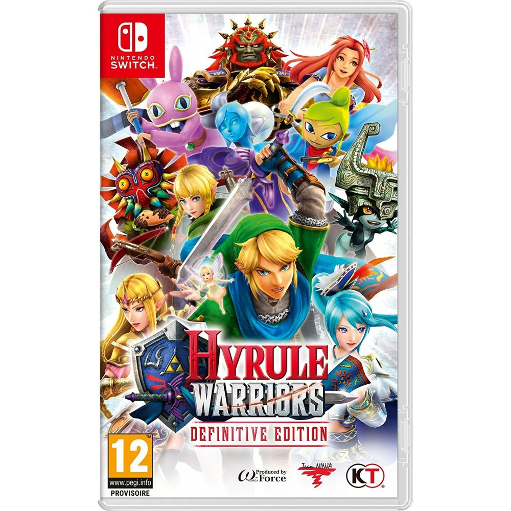 HYRULE WARRIORS DEFINITIVE EDITION SWITCH FR NEW