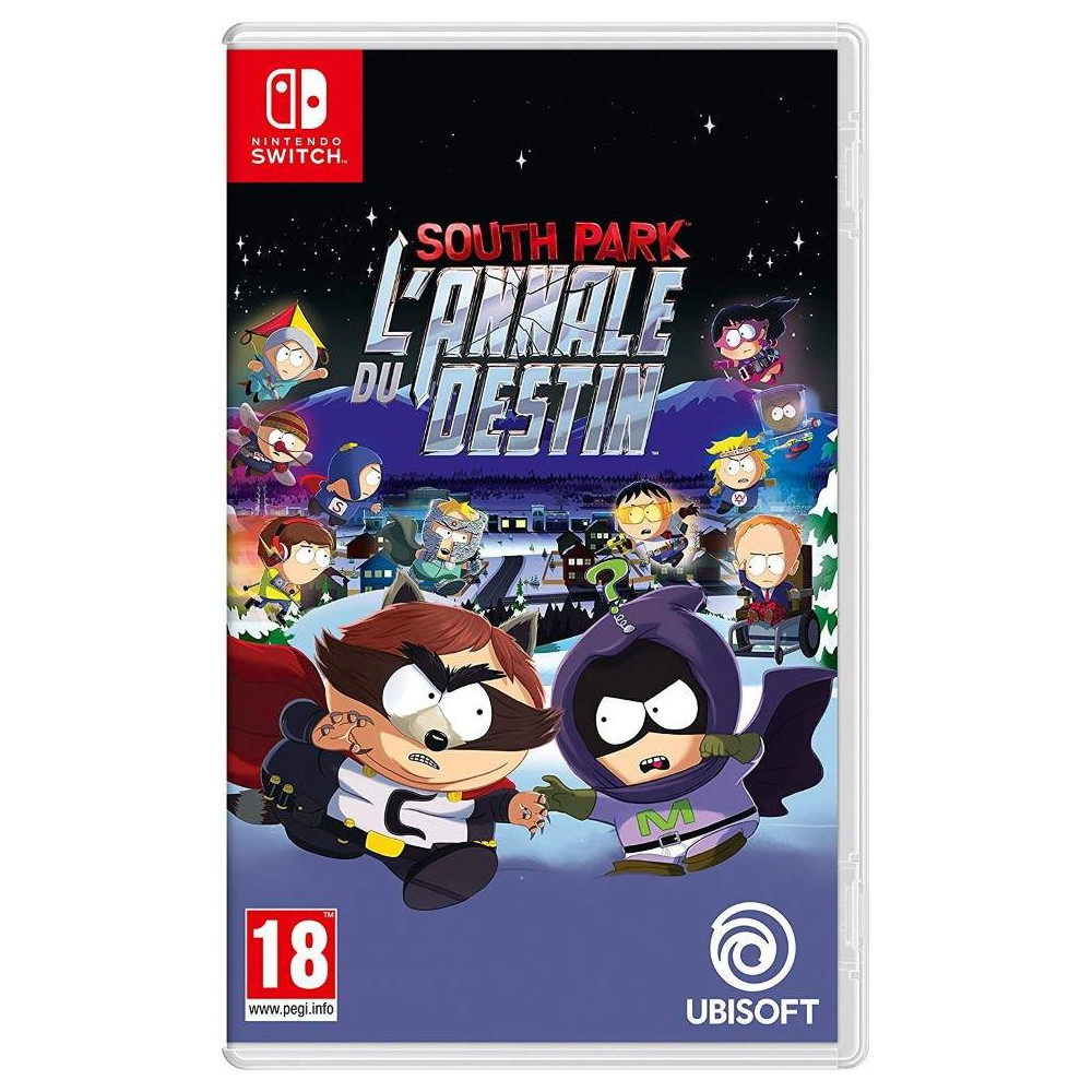 SOUTH PARK THE FRACTURED BUT WHOLE SWITCH UK NEW