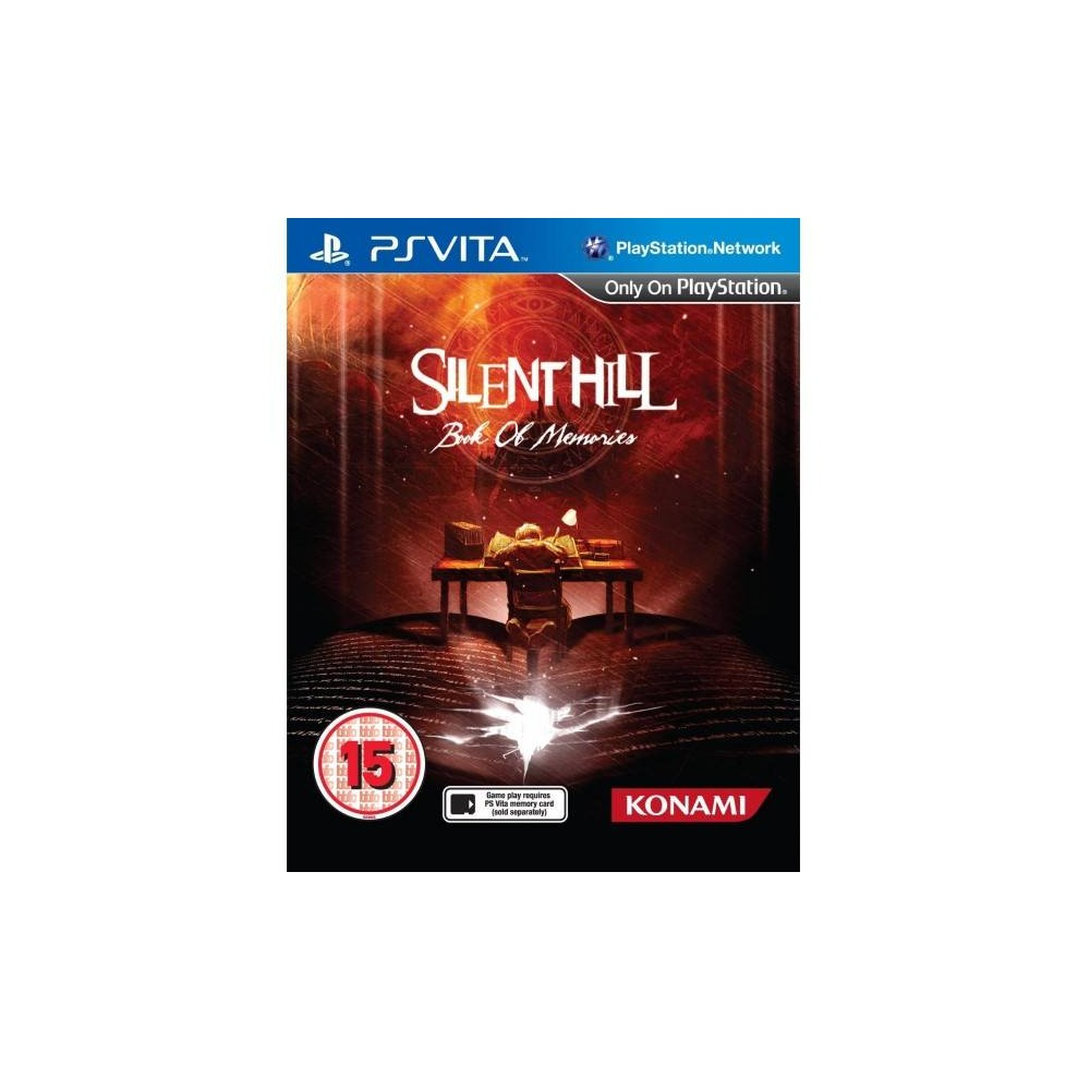 SILENT HILL BOOK OF MEMORIES PSVITA UK NEW