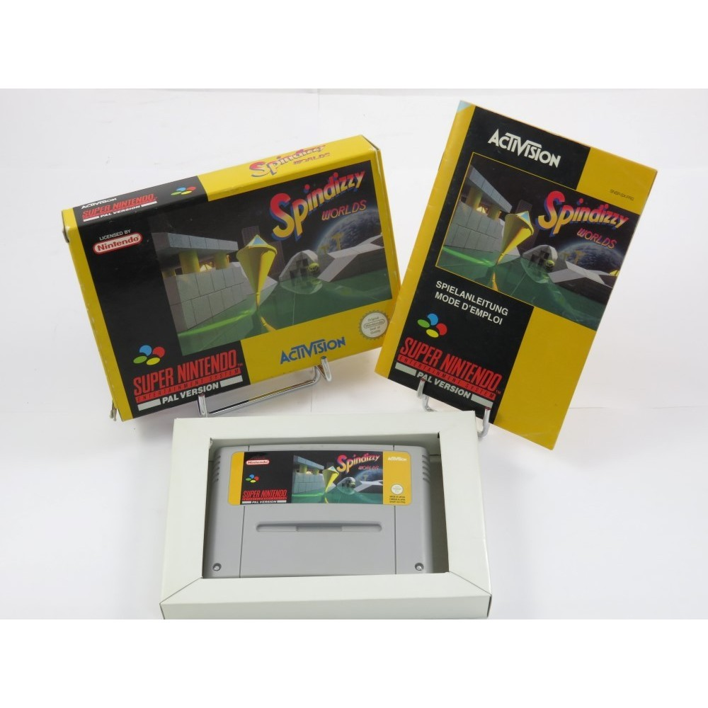 SPINDIZZY WORLDS SNES PAL-FRG OCCASION