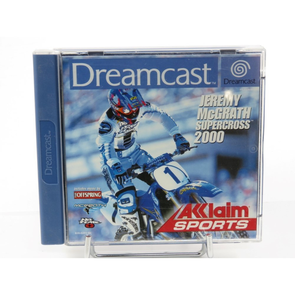 JEREMY MCGRATH SUPERCROSS 2000 DREAMCAST PAL-EURO OCCASION
