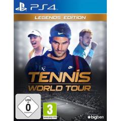 TENNIS WORLD TOUR LEGENDS EDITION PS4 UK NEW