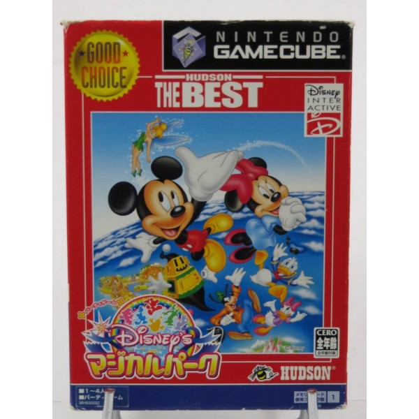 DISNEY NO MAGICAL PARK HUDSON THE BEST GAMECUBE NTSC-JPN OCCASION