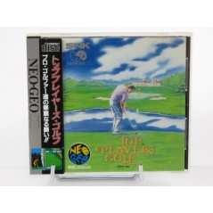 TOP PLAYER S GOLF NEO GEO CD JPN OCCASION (AVEC SPIN)