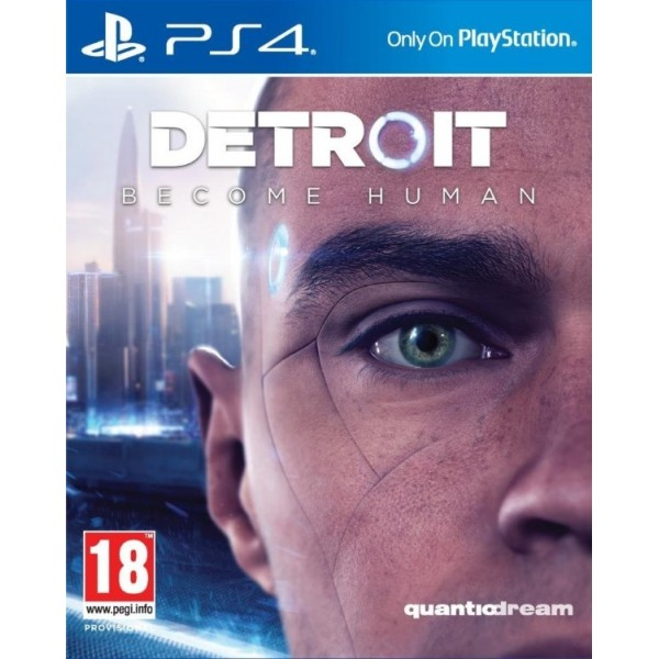 DETROIT BECOME HUMAN PS4 FR NEW