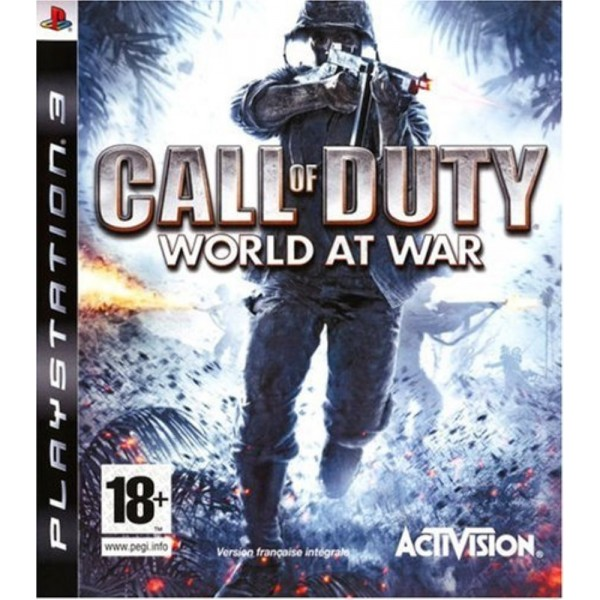 CALL OF DUTY WORLD AT WAR PS3 FR OCCASION
