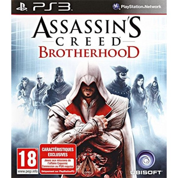 ASSASSIN S CREED BROTHERHOOD PS3 FR OCCASION