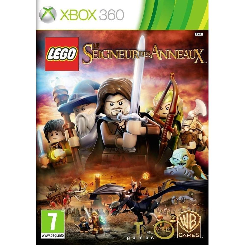 LEGO LE SEIGNEUR DES ANNEAUX XBOX 360 PAL-FR OCCASION (ETAT B)