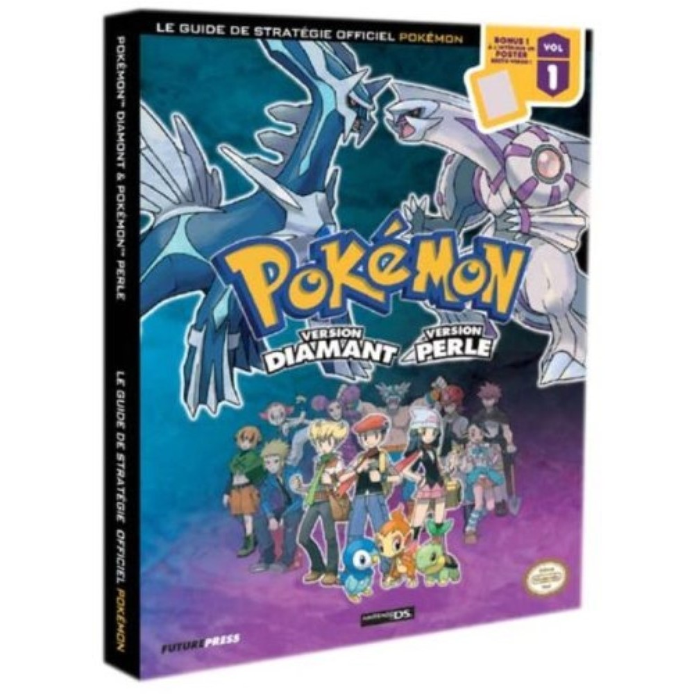 GUIDE POKEMON DIAMANT ET POKEMON PERLE FR OCCASION SANS LE POSTER
