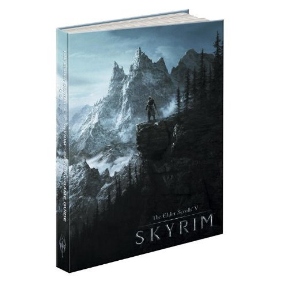 GUIDE THE ELDER SCROLLS V SKYRIM SECOND EDITION BOOK USA NEW