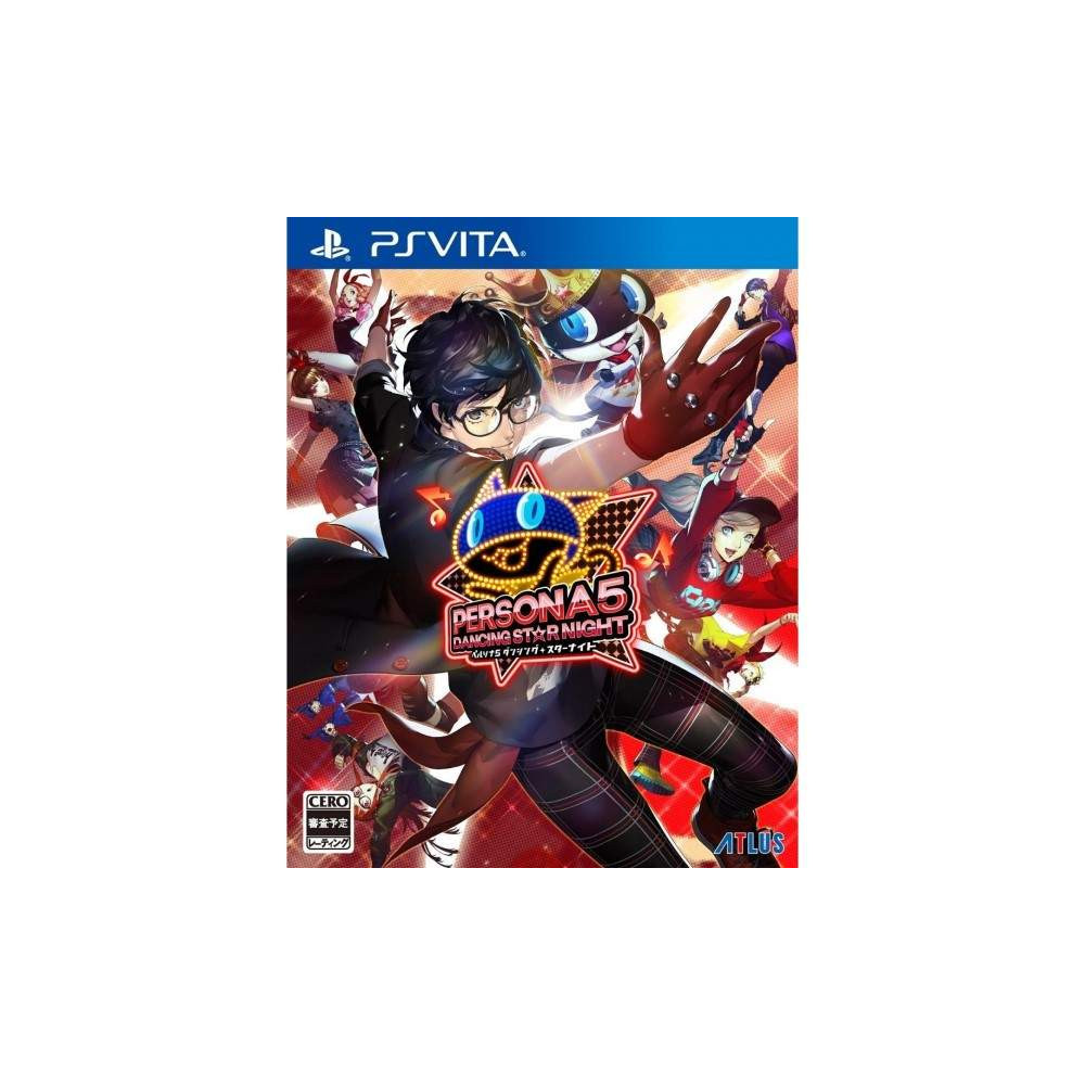 PERSONA 5: DANCING STAR NIGHT PSVITA JAP NEW