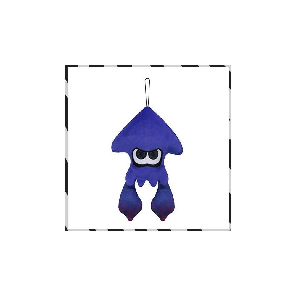 PELUCHE SPLATOON 2 ALL STAR COLLECTION SQUID BRIGHT BLUE S JAP NEW