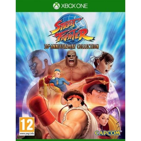 STREET FIGHTER 30EME ANNIVERSAIRE COLLECTION XONE PAL FR NEW