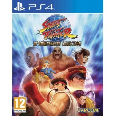 STREET FIGHTER 30EME ANNIVERSAIRE COLLECTION PS4 PAL FR NEW