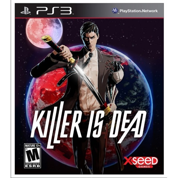 KILLER IS DEAD LIMITED EDITION PS3 USA OCCASION