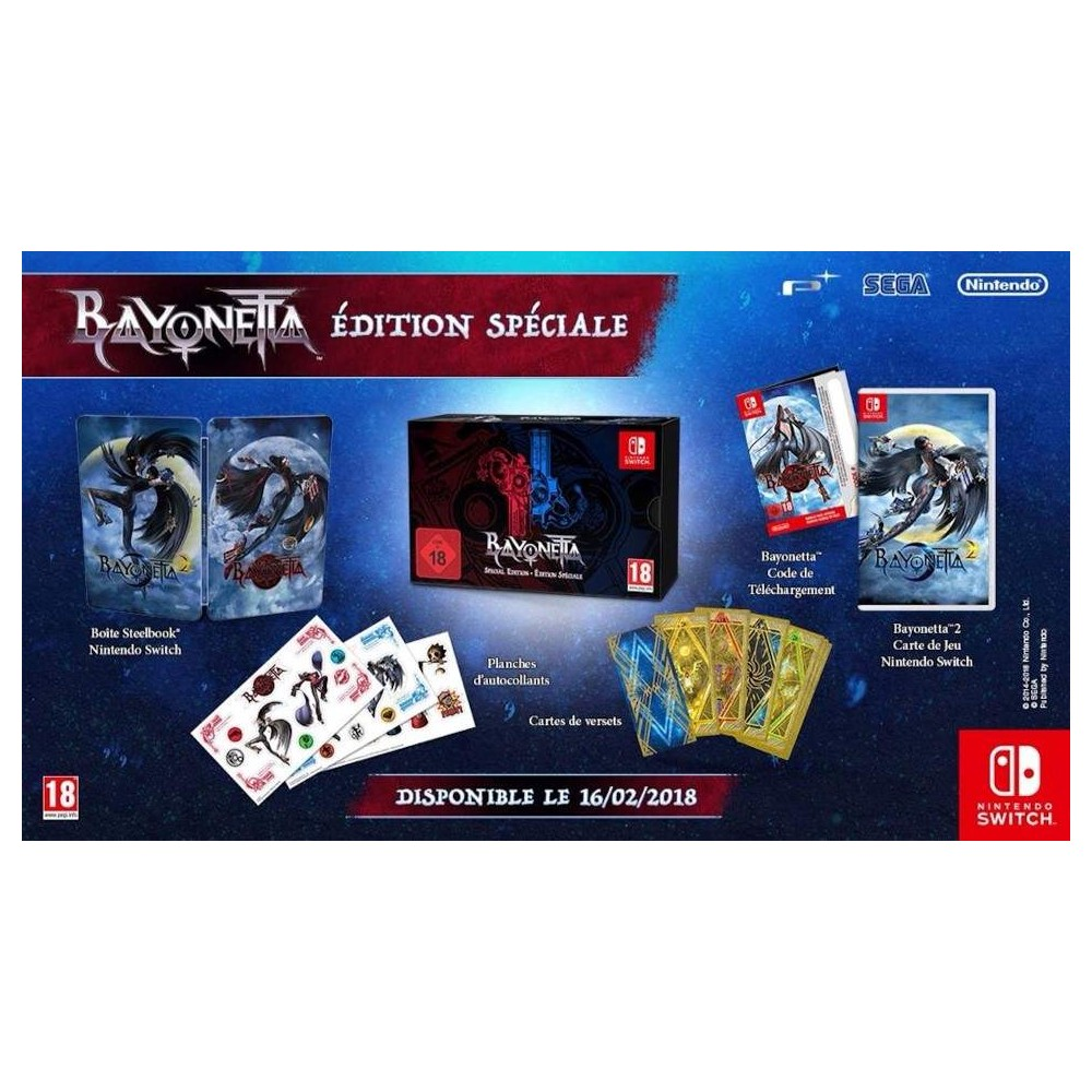 BAYONETTA EDITION SPECIALE SWITCH FR OCCASION