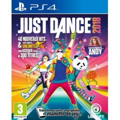 JUST DANCE 2018 PS4 FR OCCASION