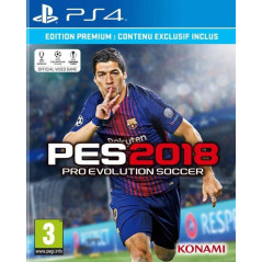 PRO EVOLUTION SOCCER 2018 PS4 UK NEW