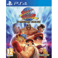 STREET FIGHTER 30TH ANNIVERSARY COLLECTION PS4 UK NEW