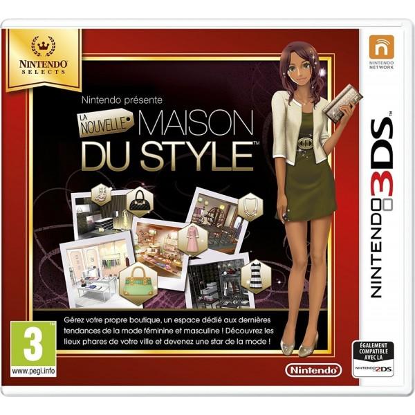 LA NOUVELLE MAISON DU STYLE NINTENDO SELECTS 3DS FR OCCASION