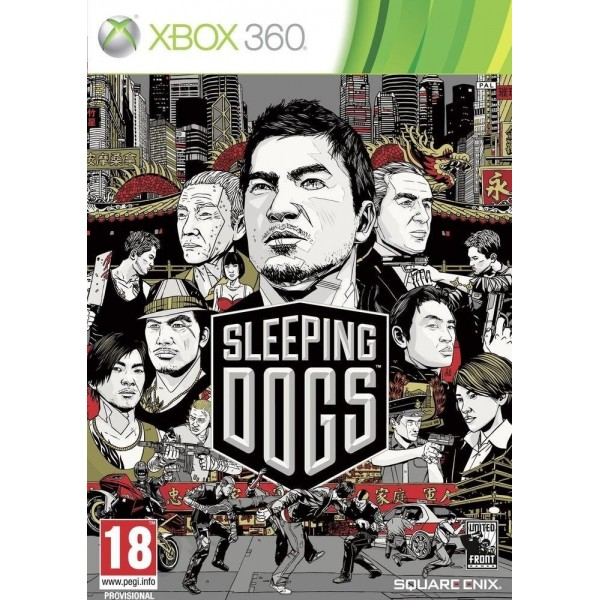 SLEEPING DOGS XBOX 360 PAL FR OCCASION