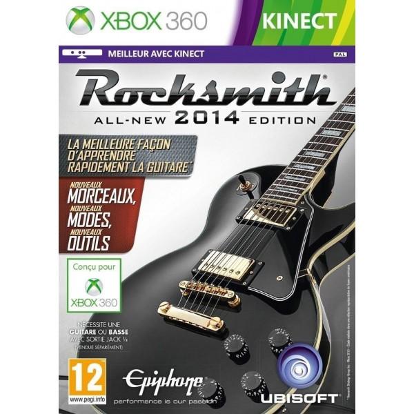 ROCKSMITH 2 XBOX 360 PAL-FR NEW