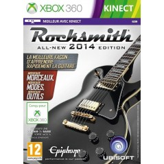 ROCKSMITH 2 XBOX 360 PAL-FR NEW