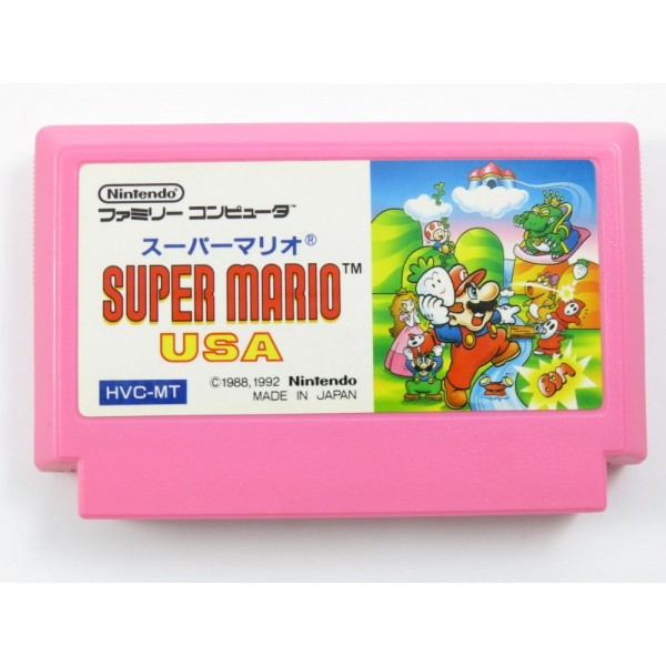 SUPER MARIO USA FAMICOM NTSC-JPN LOOSE (ETAT B)