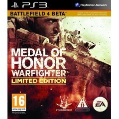 MEDAL OF HONOR WARFIGHTER LIMITED EDITION PS3 FR NL NEW