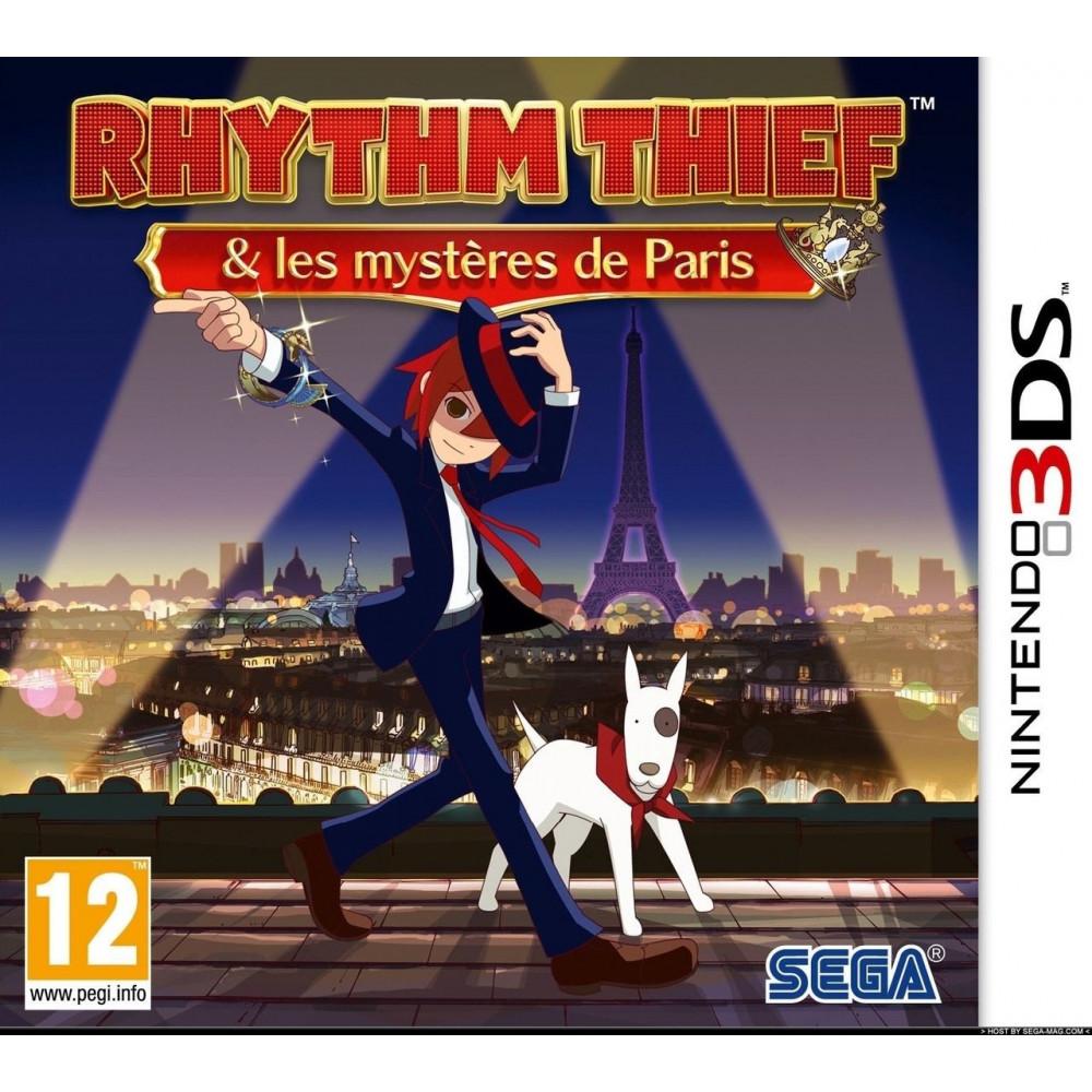 RHYTHM THIEF 3DS ALLEMAND AVEC TEXTE EN FRANCAIS OCCASION