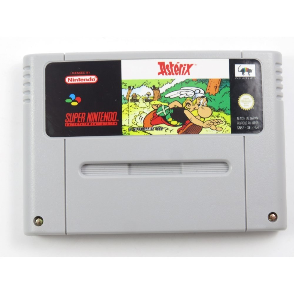 ASTERIX SNES PAL-FAH LOOSE