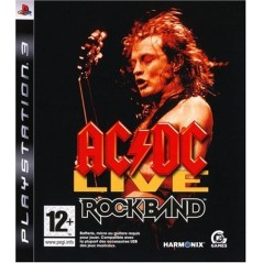 ROCK BAND AC/DC LIVE PS3 FR NEW