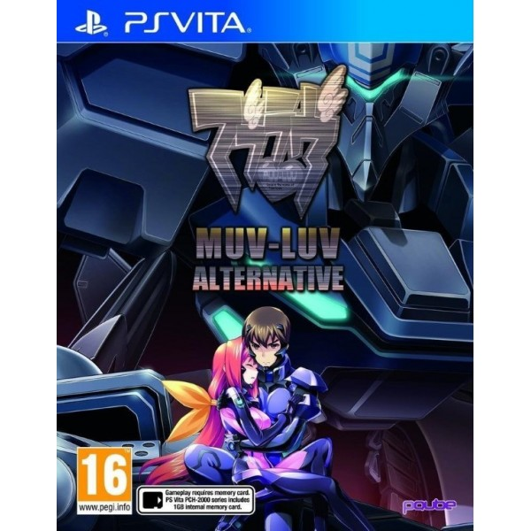 MUV-LUV ALTERNATIVE PSVITA EURO FR NEW
