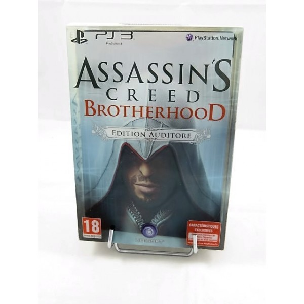 ASSASSIN S CREED BROTHERHOOD EDITION AUDITORE PS3 FR OCCASION
